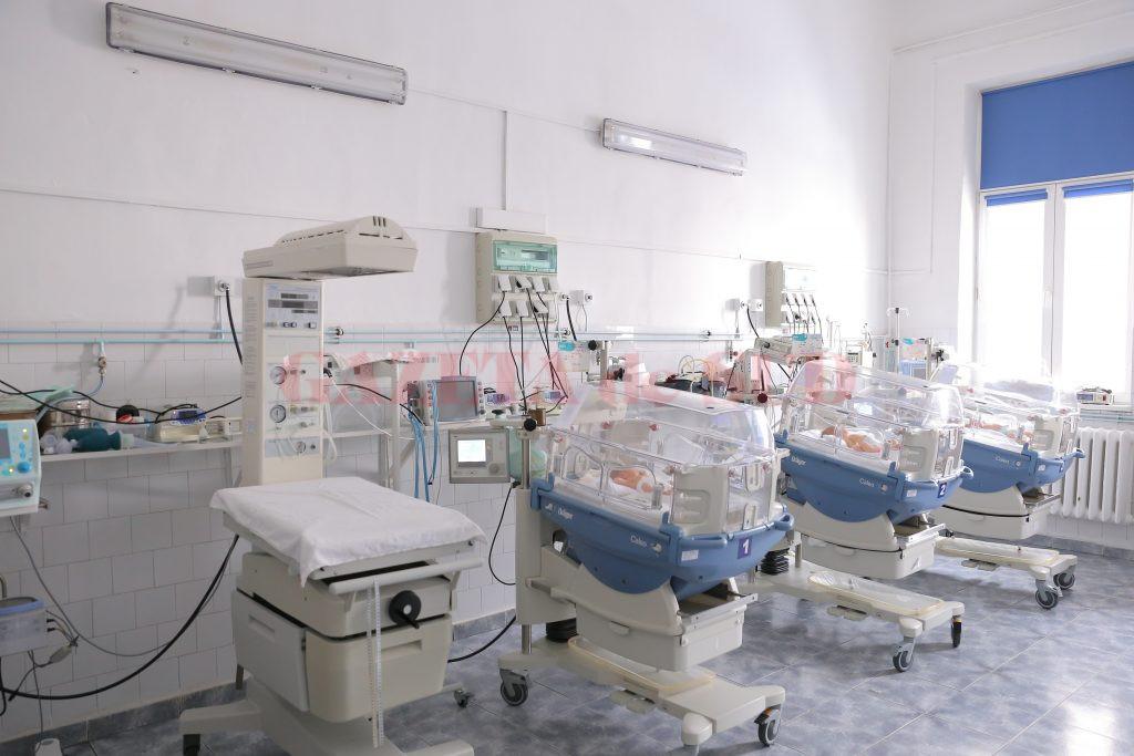 """Una dintre sălile de nașteri ale Spitalului """"Filantropia"""" Craiova (Foto:Lucian Anghel)"""
