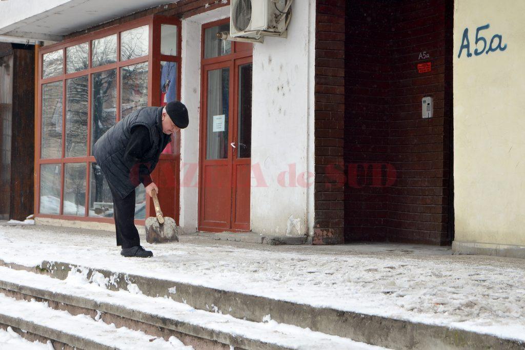 Proprietarii au pus mâna pe lopată (Foto: Bogdan Grosu)