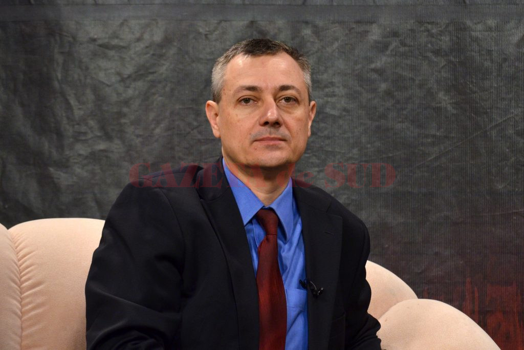 Prof. univ. dr. Adrian Săftoiu este unul dintre cei mai recunoscuți și respectați medici din România datorită pregătirii profesionale (Foto: Bogdan Grosu)
