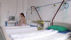 Așa arată unul dintre saloanele Spitalului din Segarcea (Foto: Lucian Anghel)