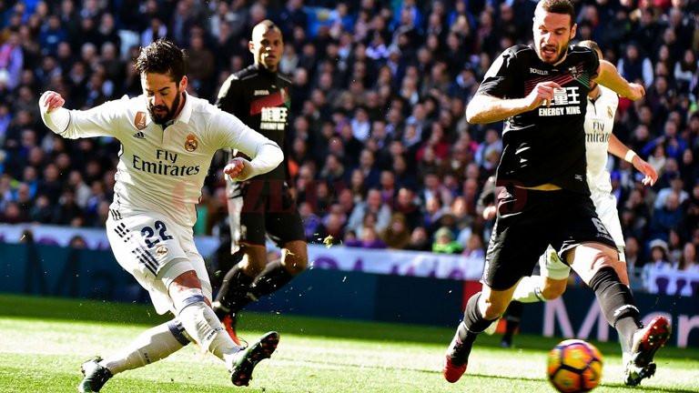 Isco a fost unul dintre remarcații meciului (Foto: skysports.com)