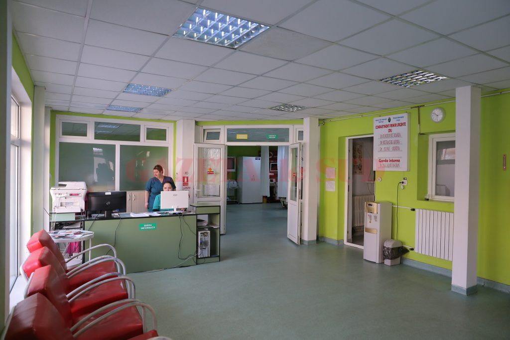 """La Compartimentul de Primiri Urgențe (CPU) din cadrul Spitalului Municipal """"Filantropia"""" Craiova ajung lunar în jur de 1.000 de pacienți.(Foto: Lucian Anghel)"""