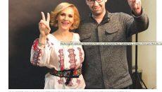 Gabriela Firea, alături de consilierul Moshe Klughaft