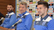 Dimitrov, Mulţescu şi Băluţă ştiu că meciul de sâmbătă, de la Botoşani, va fi greu de câştigat (Foto: Alexandru Vîrtosu)