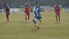 Hristo Zlatinski a marcat din a doua încercare în poarta Stelei (Foto: Alexandru Vîrtosu)