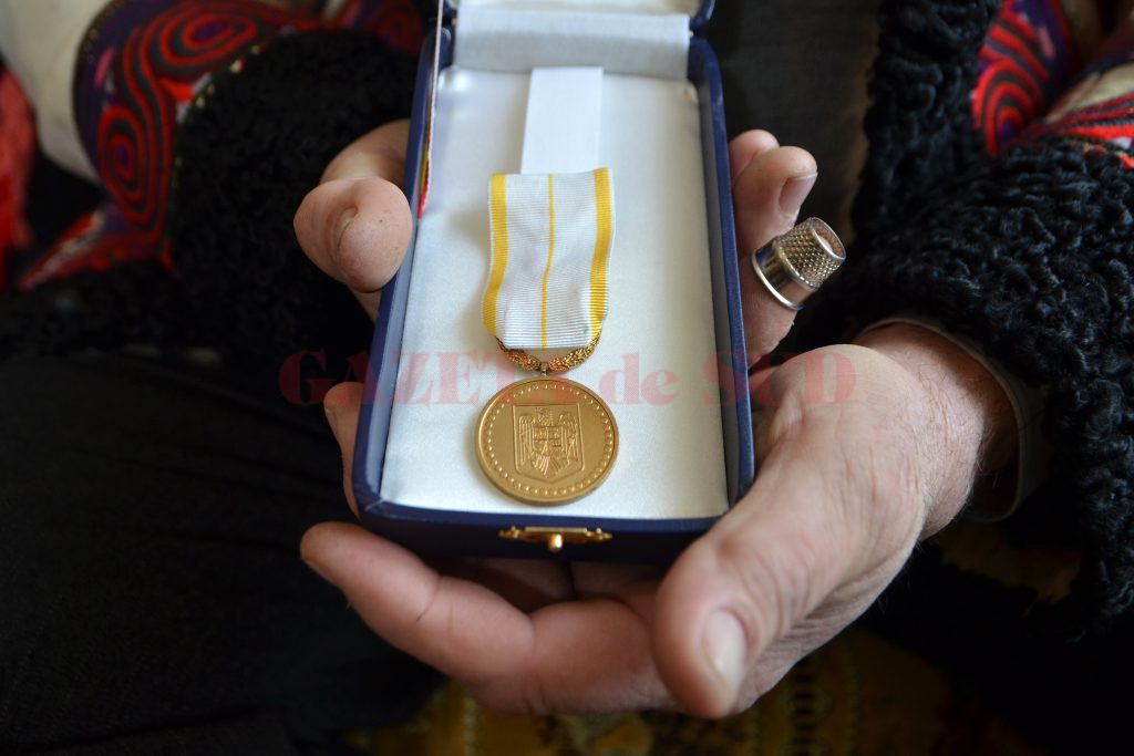 Dumitru Liceanu a fost distins cu titlul de Tezaur Uman Viu (Foto: Bogdan Grosu)