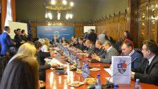 Reprezentanții mai multor ambasade, printre care Cehia, Ungaria și Nigeria, și-au dat ieri întâlnire la Primăria Craiova cu reprezentanții mediului de afaceri din Dolj