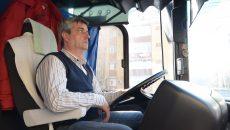 Marian Trifu, șofer RAT de peste 20 de ani  Foto: Bogdan Grosu