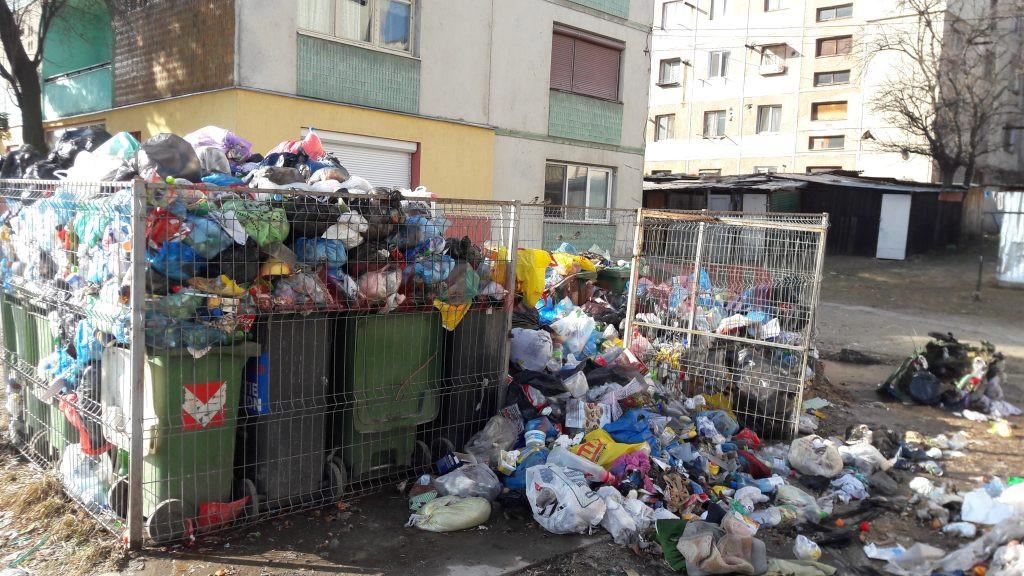 Deşeurile nu au mai fost ridicate de pe străzile Orşovei de o lună de zile