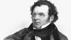 circa 1820:  Austrian composer Franz Peter Schubert (1797-1828).  An engraving by Weger.  (Photo by Rischgitz/Getty Images)