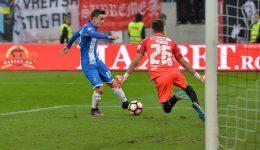 Gustavo a fost cel mai bun jucător al Craiovei în derbiul cu Dinamo (foto: csuc.ro)