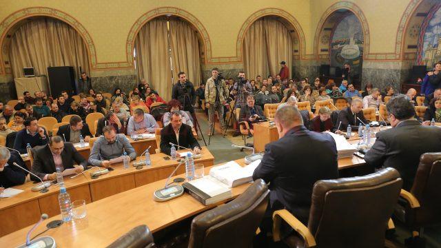 Sedinta Consiliului Local (Foto: Lucian Anghel)