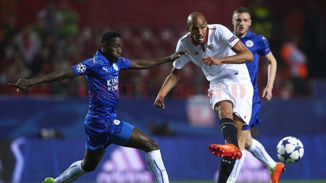 Steven N'Zonzi (în alb) și colegii săi nu s-au împiedicat de britanici (Foto: uefa.com)