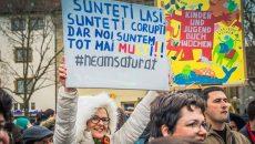 La Stüttgart, românii au transmis că s-au săturat de corupţi