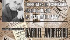 afis amicul libertatii-Gabriel Andreescu