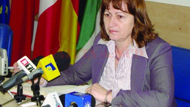 Mariana Budulan, şefa Direcţiei Publice de Venituri Târgu Jiu