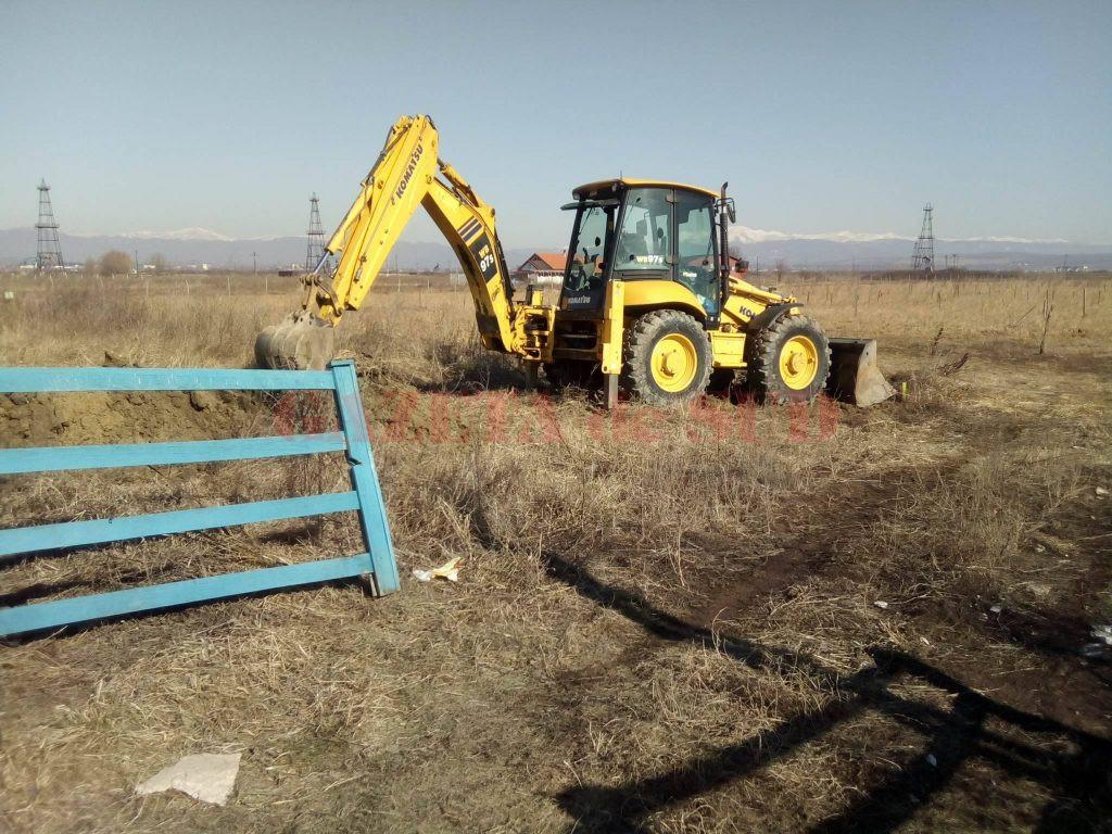 Excavatoarele au fost trase pe dreapta