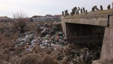 Balta Craiovița, groapa de gunoi a orașului (Foto: Lucian Anghel)