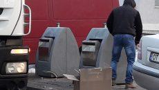 Implementarea sistemului de containere îngropate a scăpat orașul de miros, dar a micșorat gradul de colectare selectivă