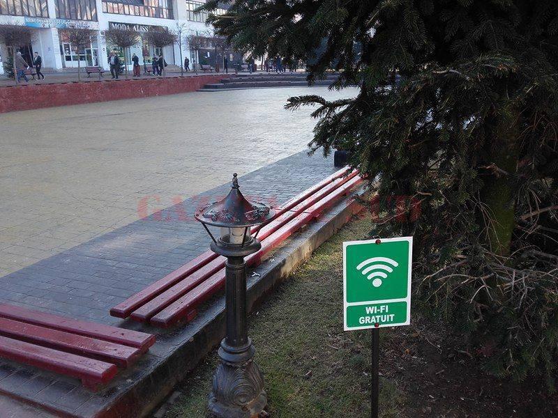 Internet în zonele verzi