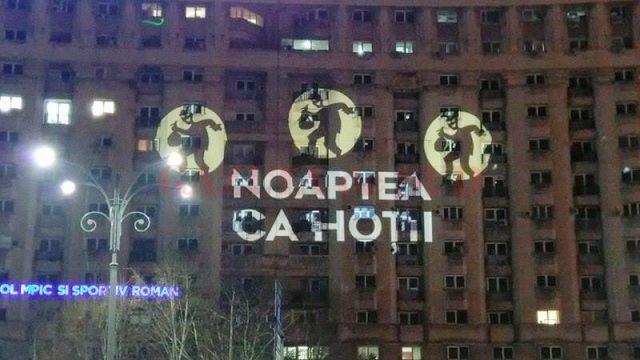 Noaptea, ca hoții, este unul dintre sloganurile protestatarilor. Unul care s-a dovedit adevarat.