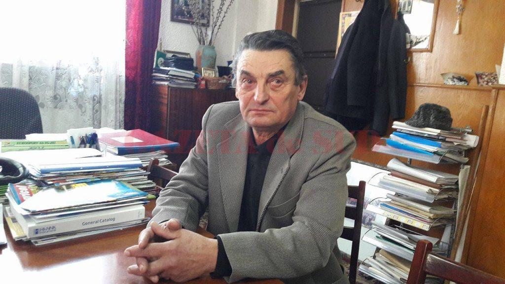 Ion Călinoiu, directorul Staţiunii Pomicole Târgu Jiu