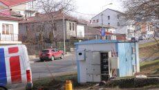 Transformatorul CEZ defect, cauza lipsei iluminatului stradal pe mai multe străzi din Craiova (foto: Lucian Anghel)