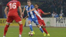 Nicușor Bancu (la minge) a reușit cel mai important  gol al său din acest sezon