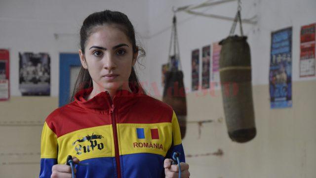 Cristina Băran a obținut medalie de argint la Râmnicu Sărat