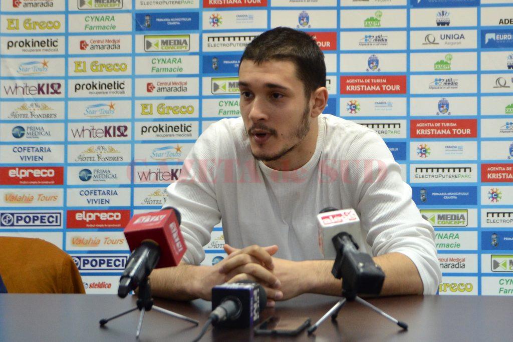 Baris Aktas se arată încrezător în ceea ce privește șansele echipei sale de accedere în play-off (foto: Bogdan Grosu)