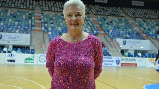 Monica Șușman Ertanhan a fost emoționată la revenirea în Polivalentă