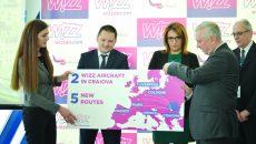 Autoritățile județene și reprezentanții Wizz Air au anunțat deschiderea, începând de vineri, a cinci noi rute de pe Aeroportul Craiova