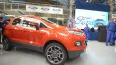 Ford le acordă angajaților zile libere după Paște, pentru a pregăti linia de asamblare pentru noul model EcoSport (Foto: Arhiva GdS)
