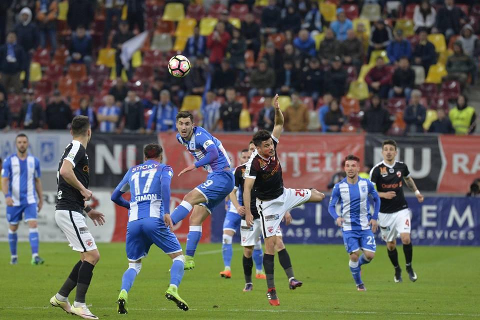 Andrei Ivan nu a avut nici o realizare în meciul cu Dinamo (Foto: csuc.ro)