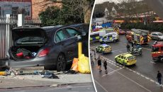 London-Car-Crash-Bromley-Road-Bellingham-South-East-Catford-Trapped-Collision-591677