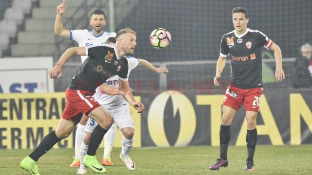 Adam Nemec a marcat și împotriva celor de la Pandurii, nu doar contra Craiovei (Foto: prosport.ro)