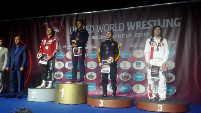 Alexandra Anghel a urcat pe treapta a treia a podiumului la Campionatul European