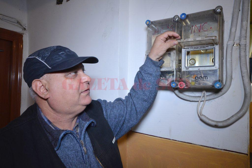 Gheorghe Berceanu așteaptă de un an contoarele de la Termo