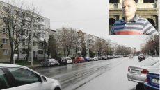Apartamentul în care s-ar fi mutat Cosmin Croitoriu (foto medalion) se află într-un  bloc de pe strada Libertăţii din Slatina (Foto: Alina Mitran)