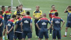 Christoph Daum are încredere în jucătorii săi că pot obţine victoria în meciul de la Cluj (Foto: libertatea.ro)