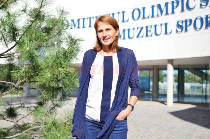 Laura Badea, noua șefă a scrimei românești