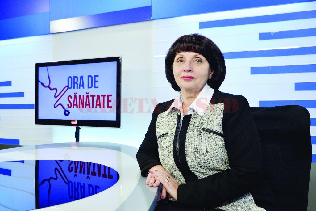 """Prof. univ. dr. Liliana Novac, șefa Clinicii de Obstetrică-Ginecologie I din cadrul Spitalului """"Filantropia"""" Craiova (Foto: Lucian Anghel)"""
