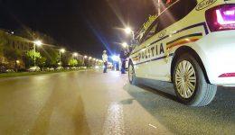 Potrivit polițiștilor doljeni, șoferul a condus pe mai multe străzi din Craiova înainte să fie blocat în trafic ()