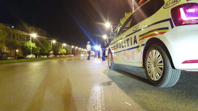 Potrivit polițiștilor doljeni, șoferul a condus pe mai multe străzi din Craiova înainte să fie blocat în trafic (Foto: Arhiva GdS)