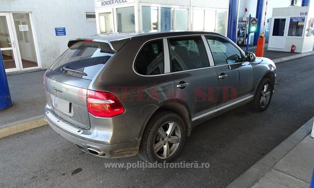 Maşina care era furată costă în jur de 20.000 de euro