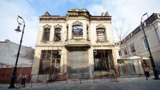 Ruină pe strada Olteț, în Centrul Istoric al Craiovei (Foto: Bogdan Grosu)