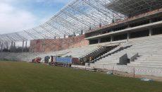 Noul Stadion Municipal se apropie de finalizare