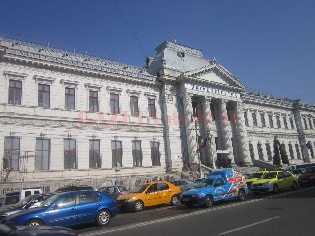 Cantina din sediul central al Universității din Craiova va fi gata în august 2017