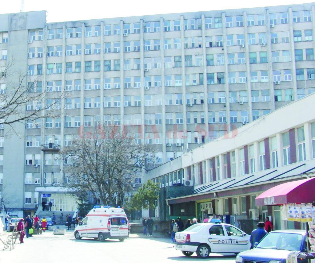 Femeia de 54 de ani a decedat vineri, la Spitalul de Urgență Craiova