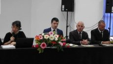La manifestări a fost prezent ministrul culturii,  Ionuţ Vulpescu (foto centru)